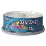 Vision 8x DVD-R Media Coupons
